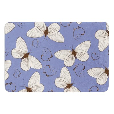Butterflies by Louise Bath Mat