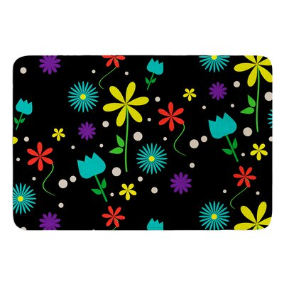 Flower I by Louise Bath Mat