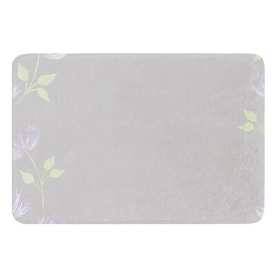 Flower II by Louise Bath Mat