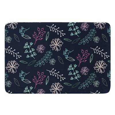 Flower III by Louise Bath Mat