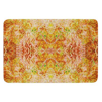Goldenrod II by Nikposium Bath Mat