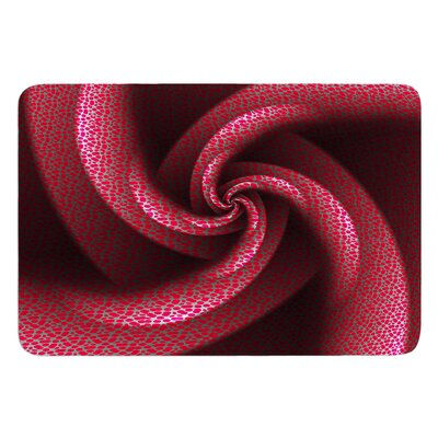 Isabellas Pinwheel by Michael Sussna Bath Mat
