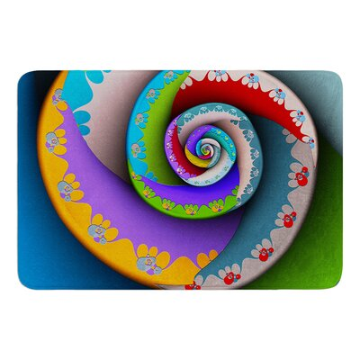 Flor Essence by Michael Sussna Bath Mat