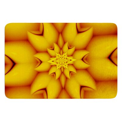 Citrus Star by Michael Sussna Bath Mat