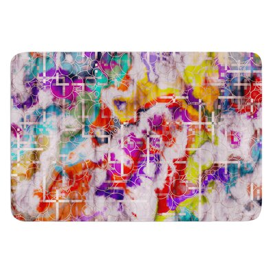 Quantum Foam by Michael Sussna Bath Mat