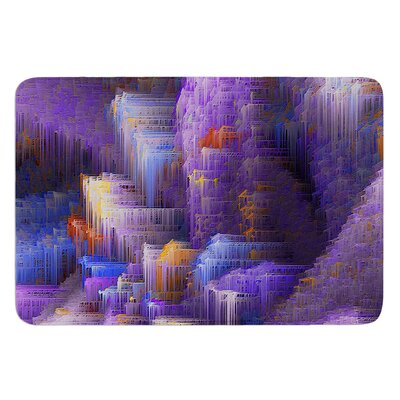 Purple Mountain Majesty by Michael Sussna Bath Mat