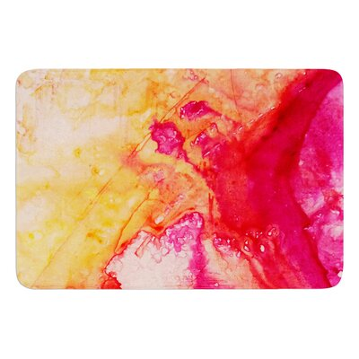 Color River IV by Malia Shields Bath Mat