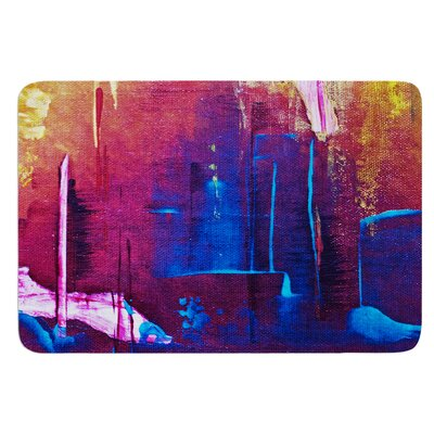 Cityscape Abstracts by Malia Shields Bath Mat