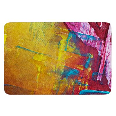 Cityscape Abstracts III by Malia Shields Bath Mat
