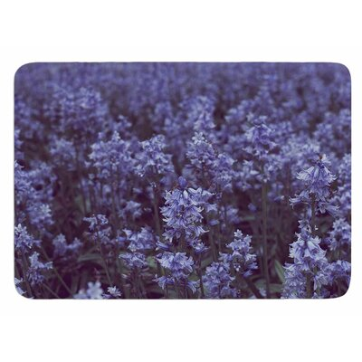 Bluebell Forest by Ann Barnes Bath Mat