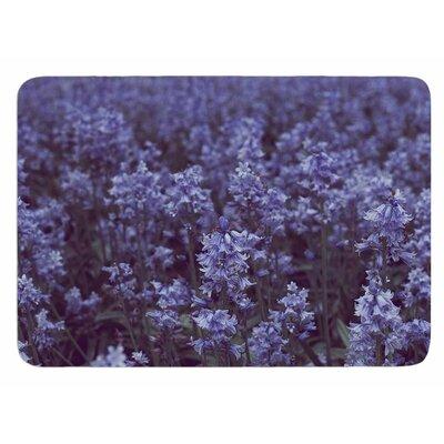 Bluebell Forest by Ann Barnes Bath Mat