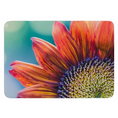 Fire and Ice by Ann Barnes Bath Mat