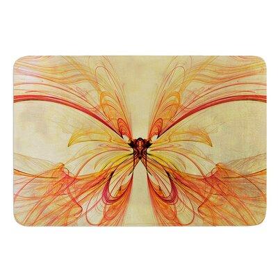 Papillon by Alison Coxon Bath Mat Size: 24 W x 36 L