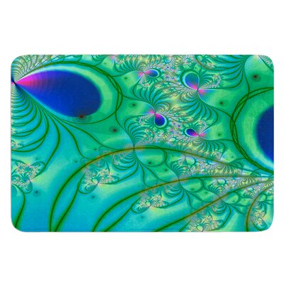 Fractal by Alison Coxon Bath Mat Size: 24 W x 36 L