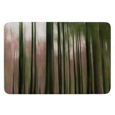 Forest Blur by Alison Coxon Bath Mat Size: 17W x 24L