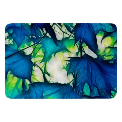 Leaves by Alison Coxon Bath Mat Size: 17W x 24L