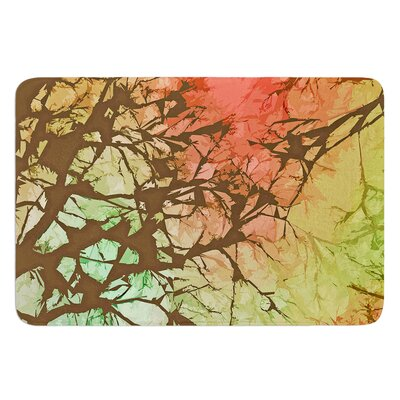 Fire Skies by Alison Coxon Bath Mat Size: 24 W x 36 L