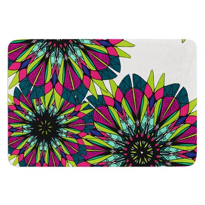 Bright by Alison Coxon Bath Mat Size: 24 W x 36 L