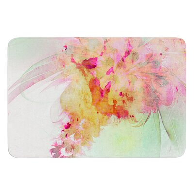 Lily by Alison Coxon Bath Mat Size: 24 W x 36 L