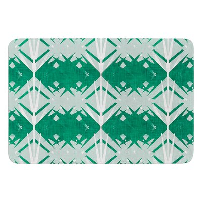 Diamond by Alison Coxon Bath Mat Size: 17W x 24L
