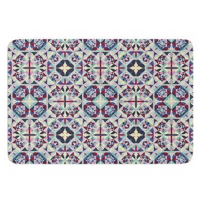 Curiousity by Allison Soupcoff Bath Mat Size: 24 W x 36 L