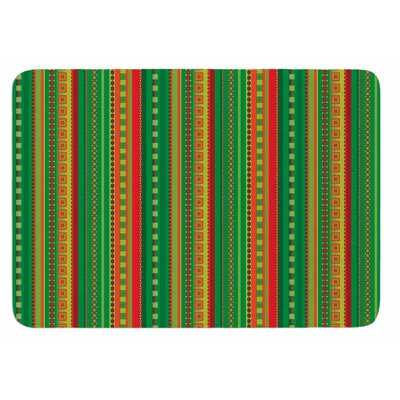 Coastal by Allison Soupcoff Bath Mat Size: 24 W x 36 L