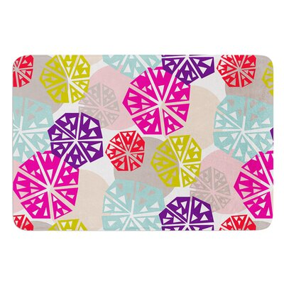 Pie In The Sky by Agnes Schugardt Bath Mat Size: 24 W x 36 L
