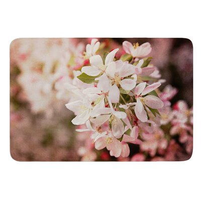 Apple Blossoms by Angie Turner Bath Mat Size: 17W x 24L