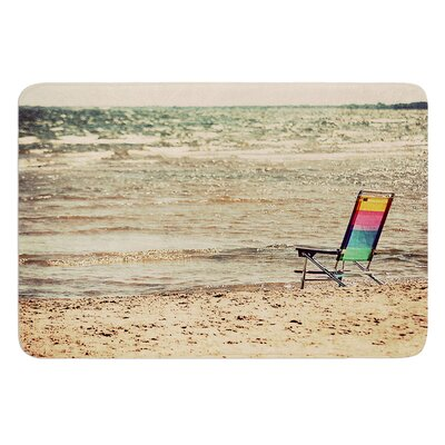 Beach Chair by Angie Turner Bath Mat Size: 24 W x 36 L