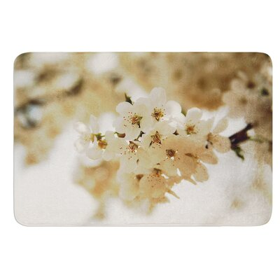 Flowering Pear by Angie Turner Bath Mat Size: 17W x 24L