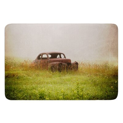 Forgotten Car by Angie Turner Bath Mat Size: 24 W x 36 L