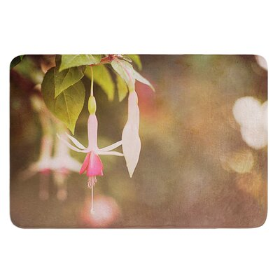 Fuchsia by Angie Turner Bath Mat Size: 17