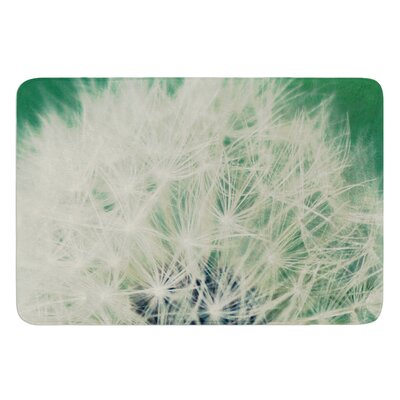 Fuzzy Wishes by Angie Turner Bath Mat Size: 17W x 24L