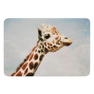 Giraffe by Angie Turner Bath Mat Size: 17