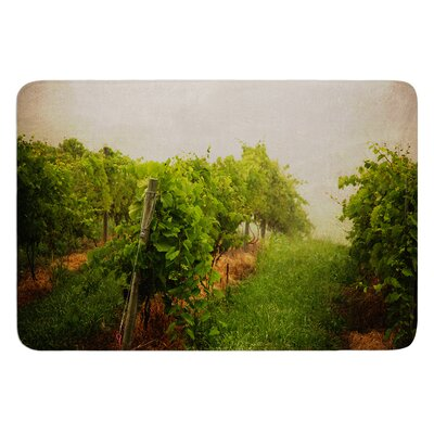 Grape Vines by Angie Turner Bath Mat Size: 17W x 24L