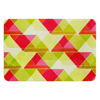 Palm Beach by Catherine McDonald Bath Mat Size: 24