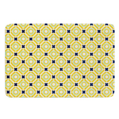 Tossing Pennies II by Catherine McDonald Bath Mat Size: 17W x 24 L