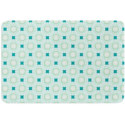 Tossing Pennies I by Catherine McDonald Bath Mat Size: 17W x 24 L