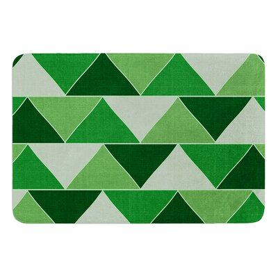 Emerald City by Catherine McDonald Bath Mat Size: 17W x 24 L