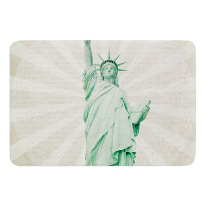 The Lady by Catherine McDonald Bath Mat Size: 17W x 24 L
