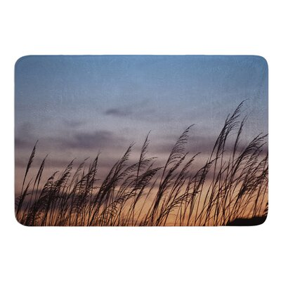 Sunset on the Beach by Catherine McDonald Bath Mat Size: 17W x 24 L