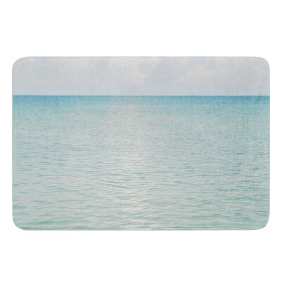 Cloud Reflection by Catherine McDonald Bath Mat Size: 17W x 24 L