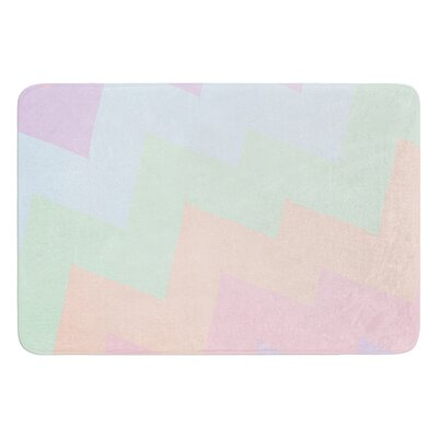 Blaze by Catherine McDonald Bath Mat Size: 24 W x 36 L