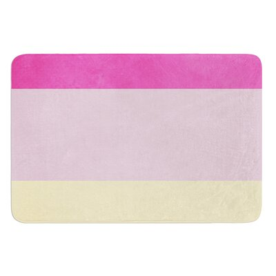 Color Block by Catherine McDonald Bath Mat Size: 17W x 24 L