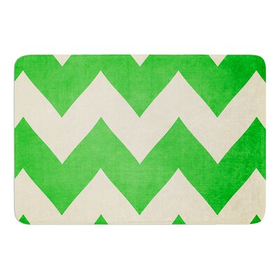 Granny Smith by Catherine McDonald Bath Mat Size: 17W x 24 L