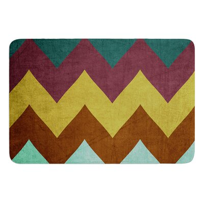 Mountain High by Catherine McDonald Bath Mat Size: 17W x 24 L