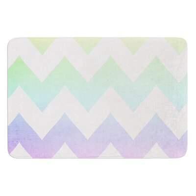 Water Color by Catherine McDonald Bath Mat Size: 17W x 24 L