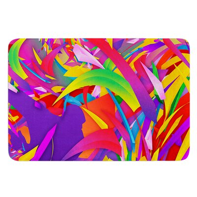 Shooting by Danny Ivan Bath Mat Size: 24 W x 36 L
