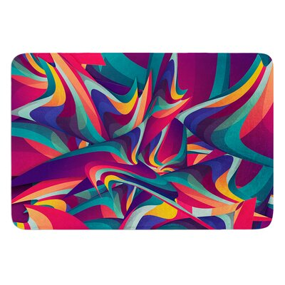 Wrong Past by Danny Ivan Bath Mat Size: 24 W x 36 L