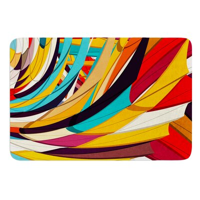 Demy World by Danny Ivan Bath Mat Size: 24 W x 36 L